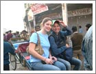 Rickshaw ride through Chandi Chowk, Delhi
